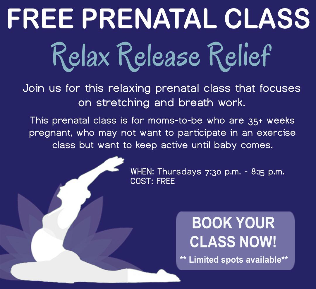 Free Prenatal Class