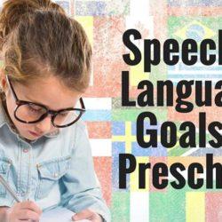 Preschoolers: Speech and Language Development