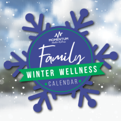 Family Winter Wellness Calendar
