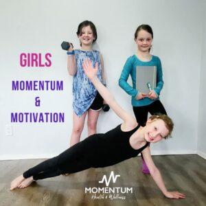 Girls Momentum and Motivation: 5-8 yrs